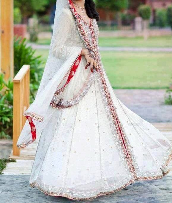 Indian Bridal Red White Elegance Indian Weddings Trousseau By